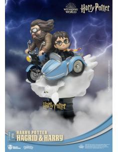 Harry Potter Diorama PVC D-Stage Hagrid & Harry New Version 15 cm - Imagen 1