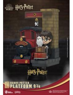 Harry Potter Diorama PVC D-Stage Platform 9 3/4 Standard Version 15 cm - Imagen 1