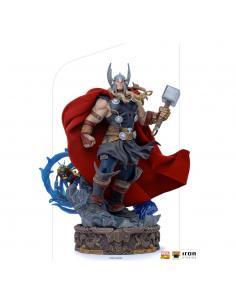 Marvel Comics Estatua 1/10 Deluxe Art Scale Thor Unleashed 28 cm - Imagen 1