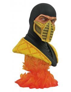 Mortal Kombat Legends in 3D Busto 1/2 Scorpion 25 cm - Imagen 1