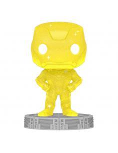 Infinity Saga Figura POP! Artist Series Vinyl Iron Man (Yellow) 9 cm - Imagen 1
