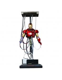 Iron Man Figura Movie Masterpiece 1/6 Iron Man Mark III (Construction Version) 39 cm - Imagen 1