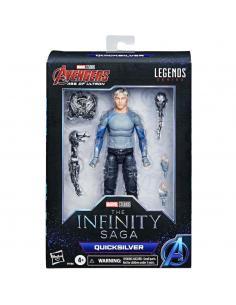 Figura Quicksilver The Infinity Saga Marvel Legends 15cm - Imagen 1
