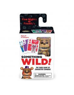 Five Nights At Freddy's Caja de 4  Juegos de Cartas Something Wild! Rockstar Freddy *Edición Inglés* - Imagen 1