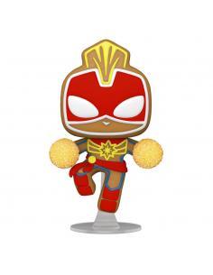 Marvel Figura POP! Vinyl Holiday Captain Marvel 9 cm - Imagen 1