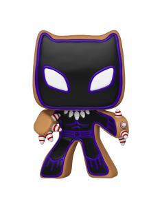Marvel Figura POP! Vinyl Holiday Black Panther 9 cm - Imagen 1