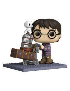 Harry Potter POP! Deluxe Vinyl Figura Harry Pushing Trolley 9 cm - Imagen 1