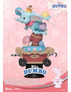 Disney Diorama PVC D-Stage Dumbo Cherry Blossom Version 15 cm - Imagen 1