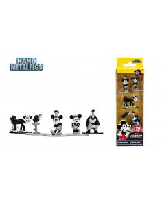 Disney Pack de 5 Figuras Nano Metalfigs Diecast Mickey's 90th 4 cm - Imagen 1
