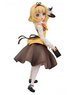 Is the Order a Rabbit Estatua PVC 1/7 Syaro (Cafe Style) 21 cm - Imagen 1