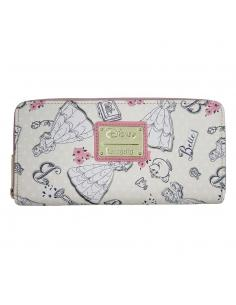 Disney by Loungefly Monedero Beauty and the Beast Creme heo Exclusive - Imagen 1