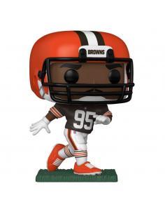 NFL POP! Sports Vinyl Figura Browns - Myles Garrett (Home Uniform) 9 cm - Imagen 1