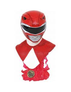 Busto Red Ranger Mighity Morphin Power Rangers 25cm - Imagen 1