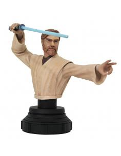 Star Wars The Clone Wars Busto 1/7 Obi-Wan Kenobi 15 cm - Imagen 1