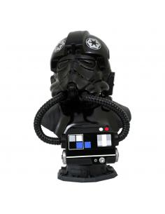 Star Wars The Clone Wars Legends in 3D Busto 1/2 TIE Pilot 25 cm - Imagen 1