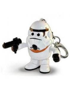 Llavero Mr. Potato Poptaters Star Wars Stormtrooper - Imagen 1