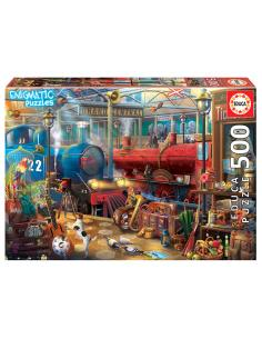 Puzzle Enigmatic Estacion de Tren 500pcs - Imagen 1
