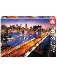 Puzzle Manhattan al Atardecer 3000pzs - Imagen 1