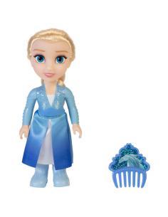 Muñeca Petite Elsa Frozen 2 Disney 15cm - Imagen 1