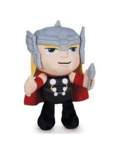 Peluche Thor Vengadores Avengers Marvel velboa 26cm - Imagen 1