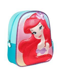 Mochila 3D La Sirenita Disney 31cm - Imagen 1