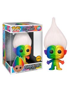 Figura POP Troll Multicolored Hair Rainbow Chase 25cm - Imagen 1