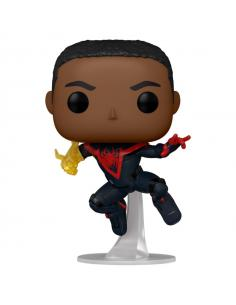 Figura POP Spiderman Miles Morales Classic Suit Chase - Imagen 1