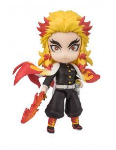 Demon Slayer: Kimetsu no Yaiba Figura Figuarts mini Kyojuro Rengoku (Flame Breathing) 9 cm - Imagen 1