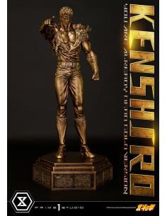 Fist of the North Star Estatua 1/4 Kenshiro You Are Already Dead Gold Version 69 cm - Imagen 1