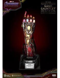 Avengers Endgame Estatua Master Craft Nano Gauntlet 1/14000605 47 cm - Imagen 1