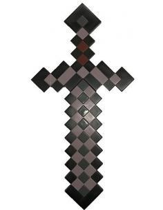 Minecraft Réplica Plástico Nether Sword 51 cm - Imagen 1