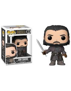 Figura POP Game of Thrones Jon Snow Beyond the Wall - Imagen 1