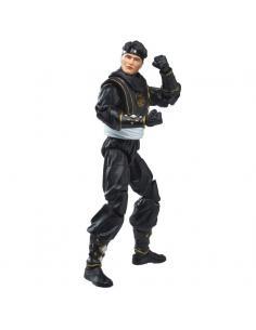 Figura Ninja Black Ranger Power Rangers Lightning Collection 15cm - Imagen 1