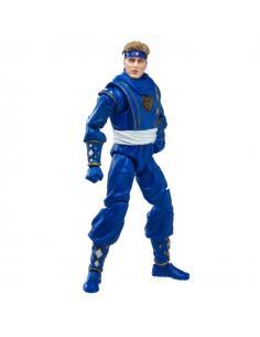 Figura Ninja Blue Ranger Power Rangers Lightning Collection 15cm - Imagen 1