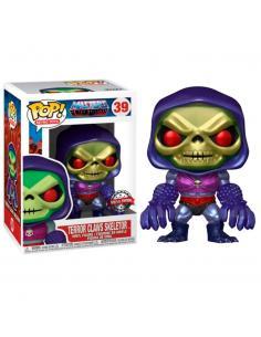 Figura POP Masters of the Universe Skeletor with Terror Claws Metallic Exclusive - Imagen 1
