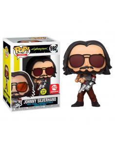 Figura POP Cyberpunk 2077 Johnny Silverhand with Gun Exclusive - Imagen 1