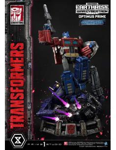 Transformers: War for Cybertron Trilogy Estatua Optimus Prime Ultimate Version 90 cm - Imagen 1
