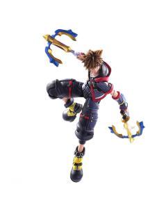 Figura Sora Kingdom Hearts III Bring Arts Disney 15cm - Imagen 1