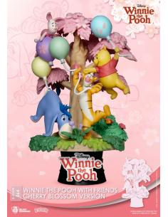 Disney Diorama PVC D-Stage Winnie the Pooh Cherry Blossom Version 15 cm - Imagen 1