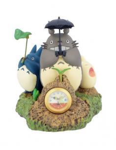 Mi vecino Totoro Reloj de Sobremesa Dondoko Dance 10 cm - Imagen 1