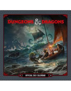 Dungeon & Dragons Calendario 2021 *INGLÉS* - Imagen 1