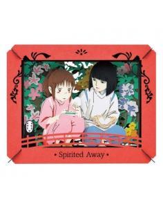 Chihiros Reise ins Zauberland Paper Model Kit Paper Theater Riceball from Haku - Imagen 1