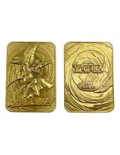 Yu-Gi-Oh! Réplica Card Dark Magician (dorado) - Imagen 1