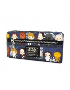 Star Wars by Loungefly Monedero Chibi Characters - Imagen 1