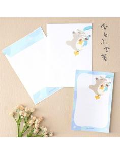 Mi vecino Totoro Set para escribir cartas Umbrella - Imagen 1