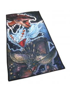Monster Hunter World Toalla Rathalos, Xenojiva & Nergikante 70 x 35 cm - Imagen 1
