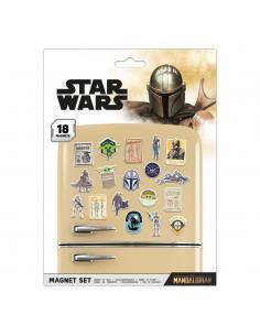 Star Wars: The Mandalorian Set de Imanes Bounty Hunter - Imagen 1