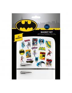 DC Comics Set de Imanes Batman Retro - Imagen 1