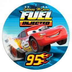 Toalla redonda Cars Disney microfibra - Imagen 1