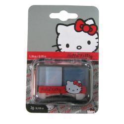 Sombra ojos azul claro y oscuro Graffiti Hello Kitty - Imagen 1